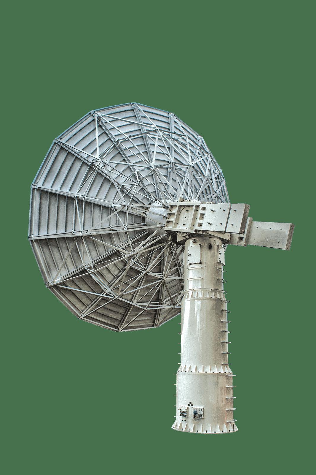 AL-4049-1D EL_AZ Antenna Positioner with dish